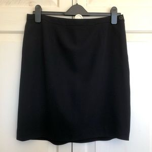 Vintage Giorgio Armani Blk Label Straight Skirt